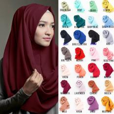 PROMO DISKON Pashmina Instan - Kerudung Hijab Jilbab Instan Khimar Instan - Pashmina Murah