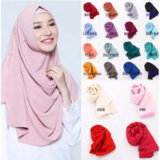 Cotton Bee Pashmina Instan Sabrina - Jilbab Instan Kerudung Berkualitas - Dusty Pink