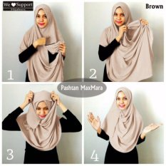 Harga Pasmina Instan Murah Hijab Instan Murah Fullset Murah