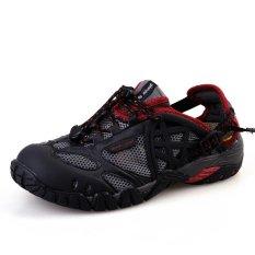 Beli Pathfidner Men S Trail Sandal Tahan Air Hiking Shoes Cahaya Mountain Pendakian Sepatu Sepatu Rendam Hitam Intl Yang Bagus