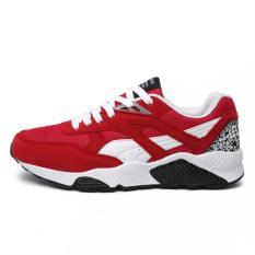 Jual Pathfinder Fashion Casual Pria Dilengkapi Ventilasi Sneakers Merah Intl Pathfinder Original