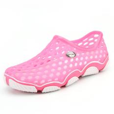 Harga Pathfinder Men S Clog Sports Massages Casual Rubber Clog Water Shoes Pink Intl Pathfinder Tiongkok