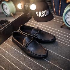 Beli Pathfinder Pria Kulit Sepatu Berkendara Kasual Slip Ons Loafer Hitam Intl Pathfinder Dengan Harga Terjangkau