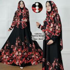Review Patricia Syari Pakaian Wanita Baju Gamis Syari Terbaru Fashion Muslim Terkini Catherina 3 Warna