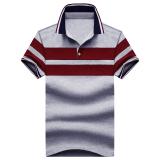 Spesifikasi Paul Sederhana Warna Solid Yard Besar Musim Panas T Shirt Kemeja Polo Abu Abu Baju Atasan Kaos Pria Kemeja Pria Kaos Polo Yang Bagus