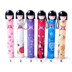 Jual Payung Botol Lipat Karakter Maiko San Satu Set