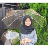 Spesifikasi Payung Jepang Transparan Bening No Brand Terbaru