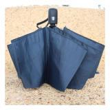 Payung Lipat Portabel Warna Solid Black Lipat Diskon 40