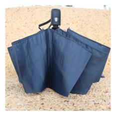 Jual Beli Online Payung Lipat Portabel Warna Solid Black