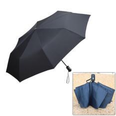 Beli Payung Lipat Portabel Warna Solid Black Dengan Kartu Kredit