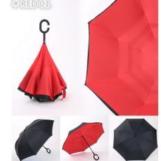 Promo Payung Terbalik Anti Basah Gagang C Reverse Umbrella Akhir Tahun