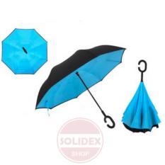 Iklan Payung Terbalik Kazbrella Jamin Grade A Biru Muda