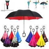 Promo Payung Terbalik Payung Gagang C New Generation Reverse Innovative Fancy Umbrella Random Murah