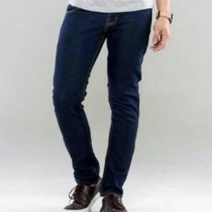 Harga Pbs Celana Jeans Denim Navy Blue Best Seller Bohel Jawa Barat