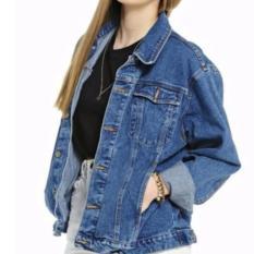 Jual Pbs Oversize Jaket Denim Wanita Premium Blue Clasic Jaket Pria Jaket Wanita Jaket Denim