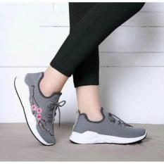 PCH sepatu wanita kets sneaker sakura abu