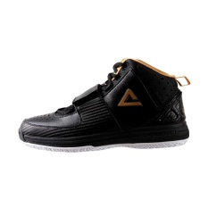 Ulasan Peak E313021A Crossover I Edition Men Outdoor Basketball Shoes Black Gold