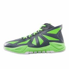 Sepatu Basket PEAK New Arrival Ares Reborn III Basketball Shoes - Grey green