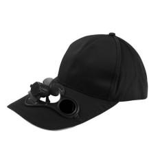 Peaked Tutup Topi Bisbol Topi UV Perlindungan dengan Tenaga Surya Bertenaga Kipas Pendingin Olahraga Topi-Internasional