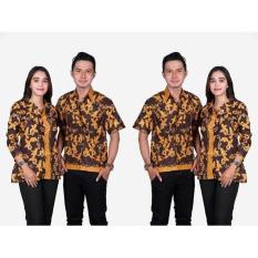 Pekalongan Sarimbit Batik Prima Batik Couple Blus Dan Hem