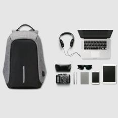 Pelangi tas Tas Ransel Polo Top- Anti Theft Outdoor Dailypack Laptop Bobby Backpack -1504-14 Tas Pria Tas Kerja Tas Fashion Pria