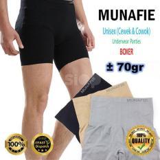 Jual Pelangsing Korset Pria Wanita Munafie Unisex Slimming Boxer Original Tebal Online Jawa Timur