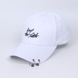 Beli Tren Menara Topi Topi Keep Ganda Lingkaran Gesper Putih Dengan Kartu Kredit