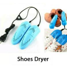 Pengering Sepatu Elektrik Multifungsi 10W 220V US Plug - Blue Piringshop