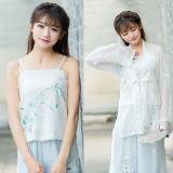 Spek Peningkatan Harian Tradisional Pakaian Adat Tiongkok Bordir Suspender Magnolia Sling Other
