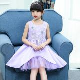 Tips Beli Gaun Gadis Putri Gaun Musim Panas Baru Perempuan 1828 Violet Yang Bagus