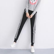 Harga Perempuan Bagian Tipis Adalah Celana Tipis Kasual Celana Olahraga 921 Hitam Oem Original