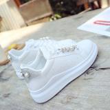 Harga Wanita Baru Musim Gugur Sol Tebal Sepatu Sneakers Sepatu Kets Putih Perak Other Terbaik