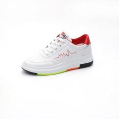 Toko Perempuan Baru Smp Sepatu Sneakers Sepatu Kets Putih Merah Sepatu Wanita Sepatu Sport Sepatu Sneakers Wanita Termurah Tiongkok