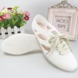 Situs Review Perempuan Datar Pantai Sepatu Sandal Putih Sepatu Wanita Sendal Wanita