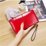 Harga Perempuan Kapasitas Besar Ritsleting Dompet Wanita Model Panjang Dompet Merah Baru
