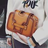 Beli Barang Korea Fashion Style Tiga Lapisan Jepitan Tas Tali Rantai Tas Nina Coklat Online