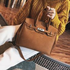 Perempuan Musim Dingin Produk Baru Tas Model Hermes Tas Tangan (Coklat) Tas Tas Wanita Tas Selempang Wanita