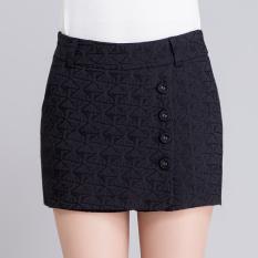 Jual Perempuan Musim Semi Dan Musim Panas Baru Ukuran Besar Paket Hip Rok Celana Pendek Rok Hitam Oem Ori
