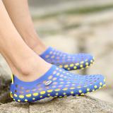 Spesifikasi Beberapa Sandal Sepatu Perempuan Sepatu Anti Slip Perempuan Diluar Ruangan Biru Merk Other