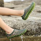 Perempuan Pan Musim Panas Sepatu Lubang Sandal Hijau Terbaru
