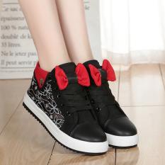 Toko Perempuan Remaja Anak Perempuan Musim Semi Sepatu Wanita Pergelangan Kaki Tinggi Kanvas Sepatu Hitam E81 Sepatu Wanita Sepatu Sport Sepatu Sneakers Wanita Oem Online