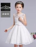 Spesifikasi Perempuan Rompi Putih Musim Panas Gaun Putri Renda Rok Putih Yg Baik