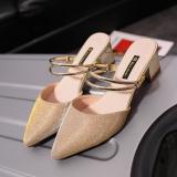 Jual Perhiasan Yang Berkelip Kelip Perak Perempuan Sepatu Wanita Gesit Sandal Summer Emas Sepatu Wanita Sendal Wanita Online Tiongkok