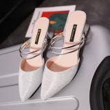 Jual Perhiasan Yang Berkelip Kelip Perak Perempuan Sepatu Wanita Gesit Sandal Summer Perak Sepatu Wanita Sendal Wanita Other Di Tiongkok