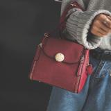 Harga Persegi Kecil Eropa Dan Amerika Perempuan Baru Lulur Modis Bahu Tas Paket Anggur Merah Yg Bagus