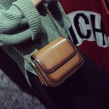 Harga Persegi Kecil Tas Wanita Korea Fashion Style Baru Tas Tas Selempang Bahu Coklat Dan Spesifikasinya