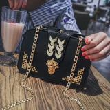 Top 10 Persegi Kecil Korea Fashion Style Kunci Tas Tali Rantai Tas Kecil Baru Tas Wanita Hitam Online