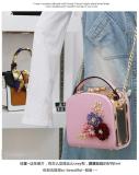 Spesifikasi Persegi Kecil Korea Fashion Style Mini Ran Kecil Tas Tas Merah Muda Lengkap Dengan Harga