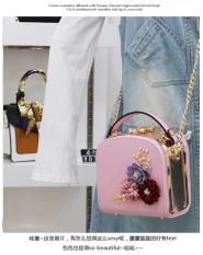 Harga Persegi Kecil Korea Fashion Style Mini Ran Kecil Tas Tas Merah Muda Online Tiongkok