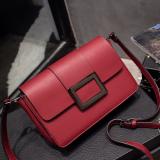 Toko Persegi Kecil Korea Fashion Style Tas Mini Tas Kecil Tas Anggur Merah Terlengkap Tiongkok